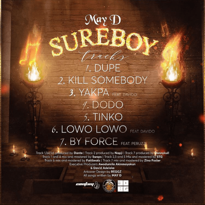 May D By Force ft. Peruzzi Mp3 Download