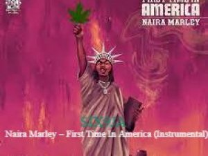 Naira Marley – First Time In America (Instrumental) beat Download