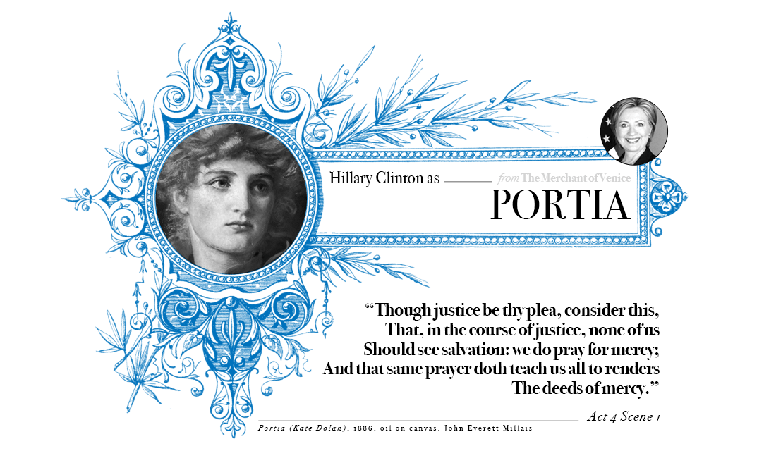 Campaign in Poetry, Govern in Prose - Hillary Clinton as Portia