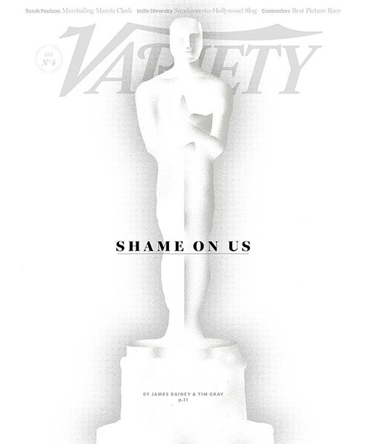 January 26, 2016 Cover of Variety (Source: Variety/Huffington Post)