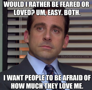 """Michael Scott from """"The Office"""" (Source: The Officeisms.com)"""