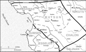 Mutsun Territory (Source: Amah Mutsun Tribal Band)