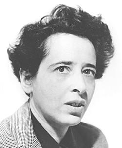 Hannah Arendt (Source: WPClipArt/DecodedPast)