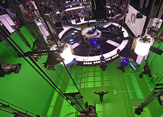 Behind the scenes at the BBC (Source: BBC Studioworks)