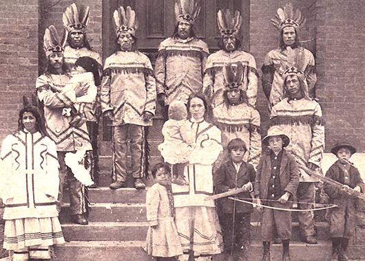 Catawba Indians (Source: Wikimedia Commons)