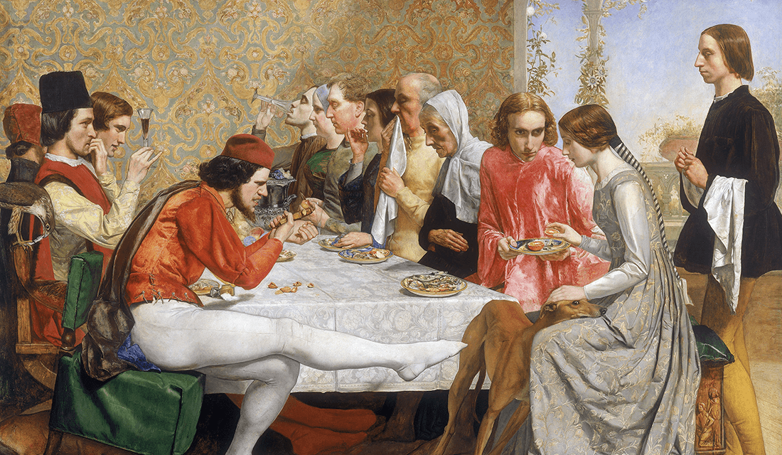 "John Everett Millais' ""Isabella"" (Source: Wikimedia Commons)"