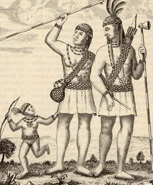 Lenni Lanape, also known as Delaware Indians (Source: Penn Treaty Museum)