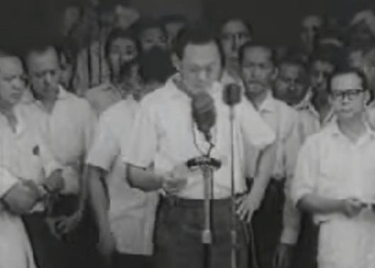 Lee Kuan Yew in 1963 (Source: Wikimedia Commons)