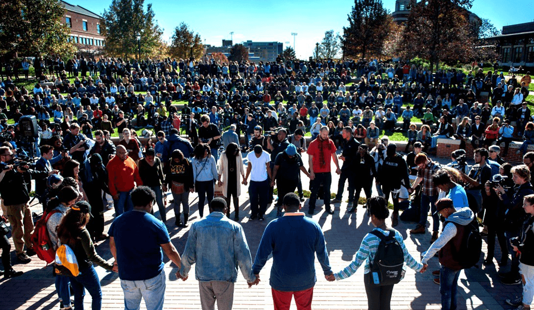 Mizzou Students Gather (Source: Michael Cali/San Diego Union-Tribune/TNS/Daily Signal)