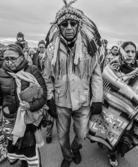 Tribal Leaders (Source: Oceti Sakowin Camp/Facebook)