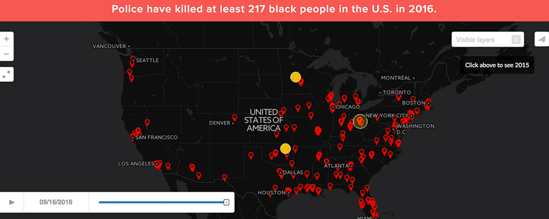 Police Brutality Stats (Source: Mapping Police Brutality)