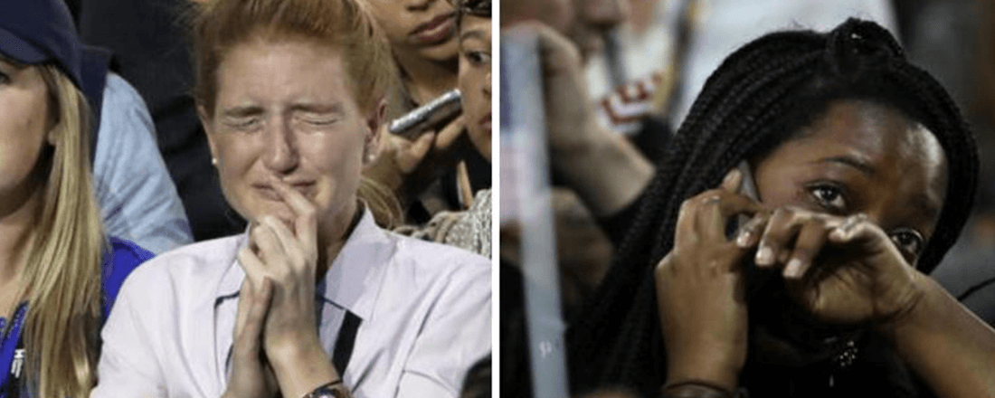 Young People's Reactions to the 2016 U.S. Presidential Election Results (Source: Deccan Chronicle)