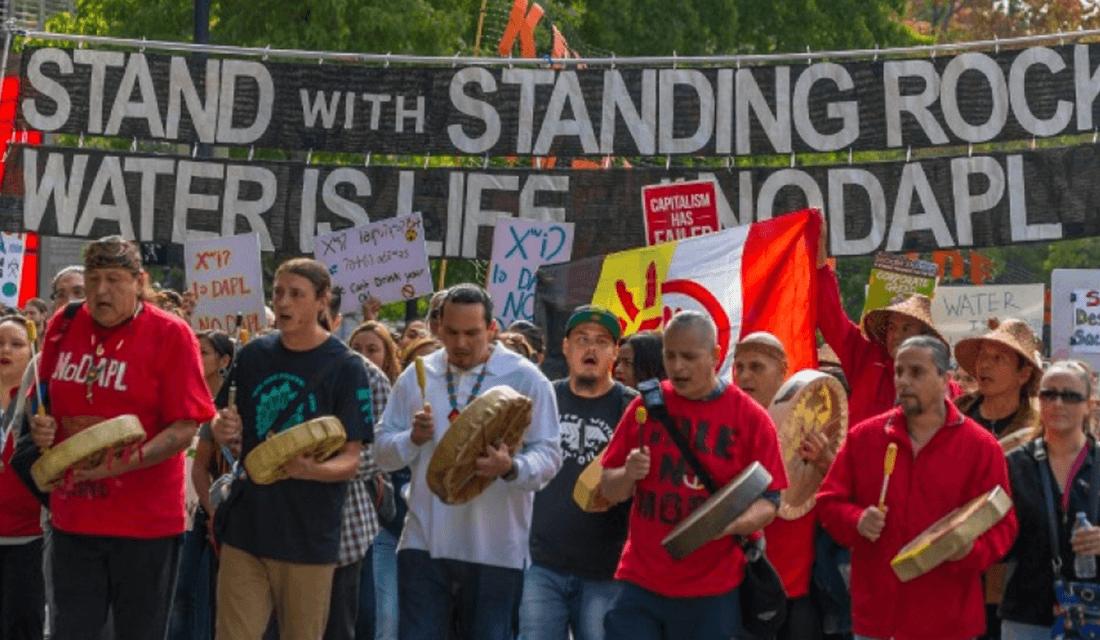 NoDAPL Protest (Source: John Duffy/Common Dreams)