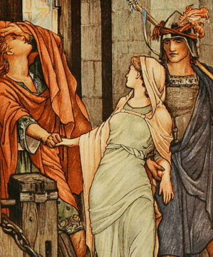Troilus and Cressida (Source: Internet Archive Book Images/Flickr)