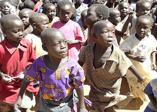 Ugandan Children (Source: USAID/Wikimedia Commons)