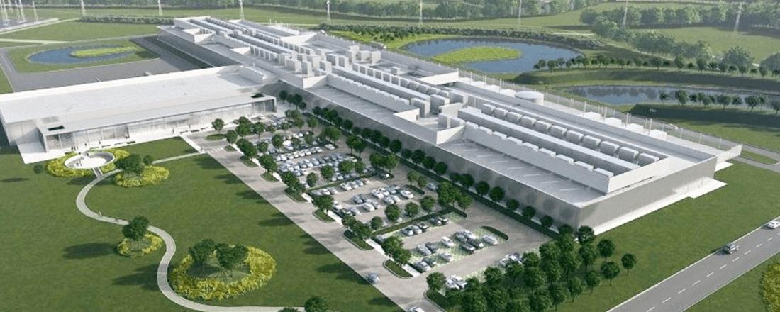 Facebook's Proposed Data Center in Ireland (Source: Power Engineering International)