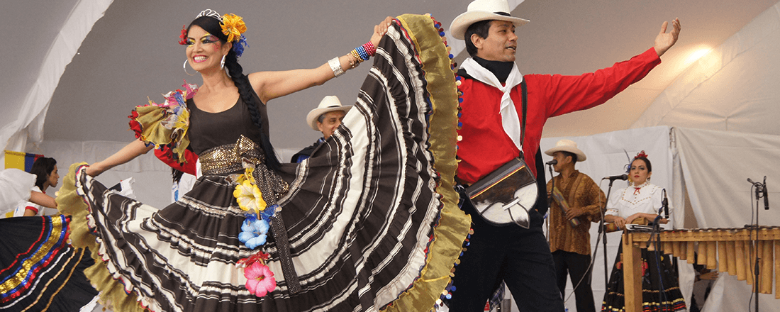 Ballet folklorico (Source: Monterrey Institute of Technology and Higher Education, Mexico City/Wikimedia Commons)