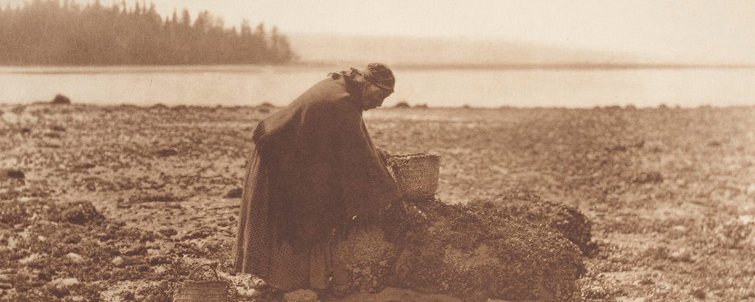 Mussel Gatherer (Source: Smithsonian Institution/Flickr)