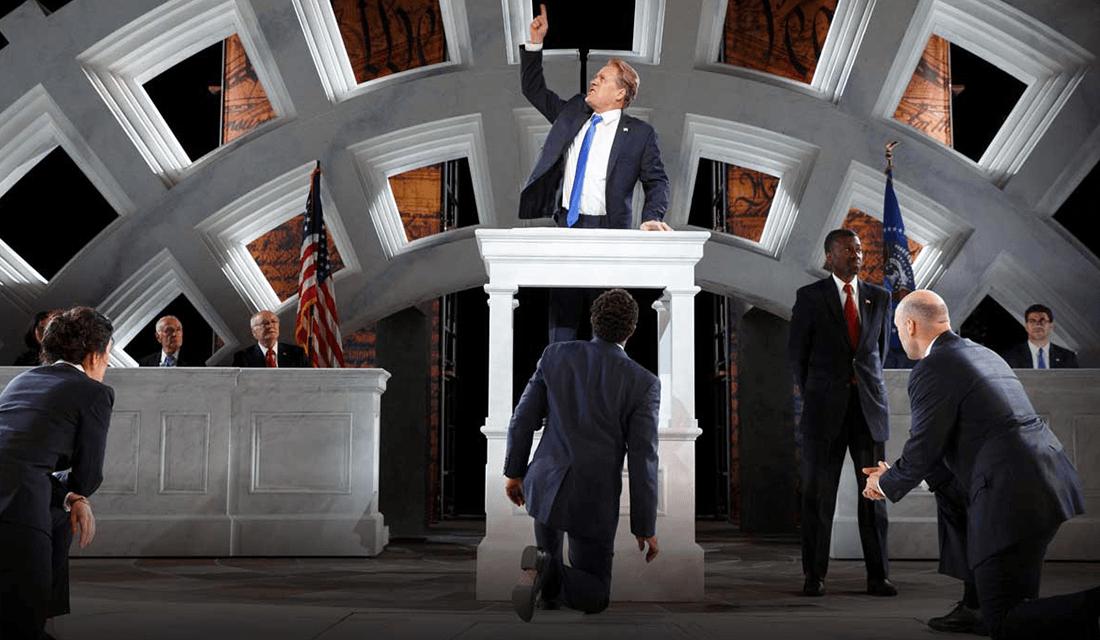 Public Theater's 2017 production of Julius Caesar (Source: Public Theater)