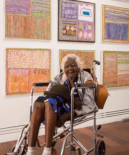 Loongkoonan (Source: Art Gallery of South Australia, Adelaide/Mashable)
