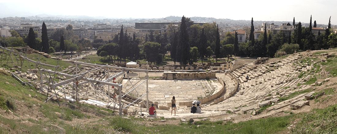Theater of Dionysus (Source: Katie Rosengarten)