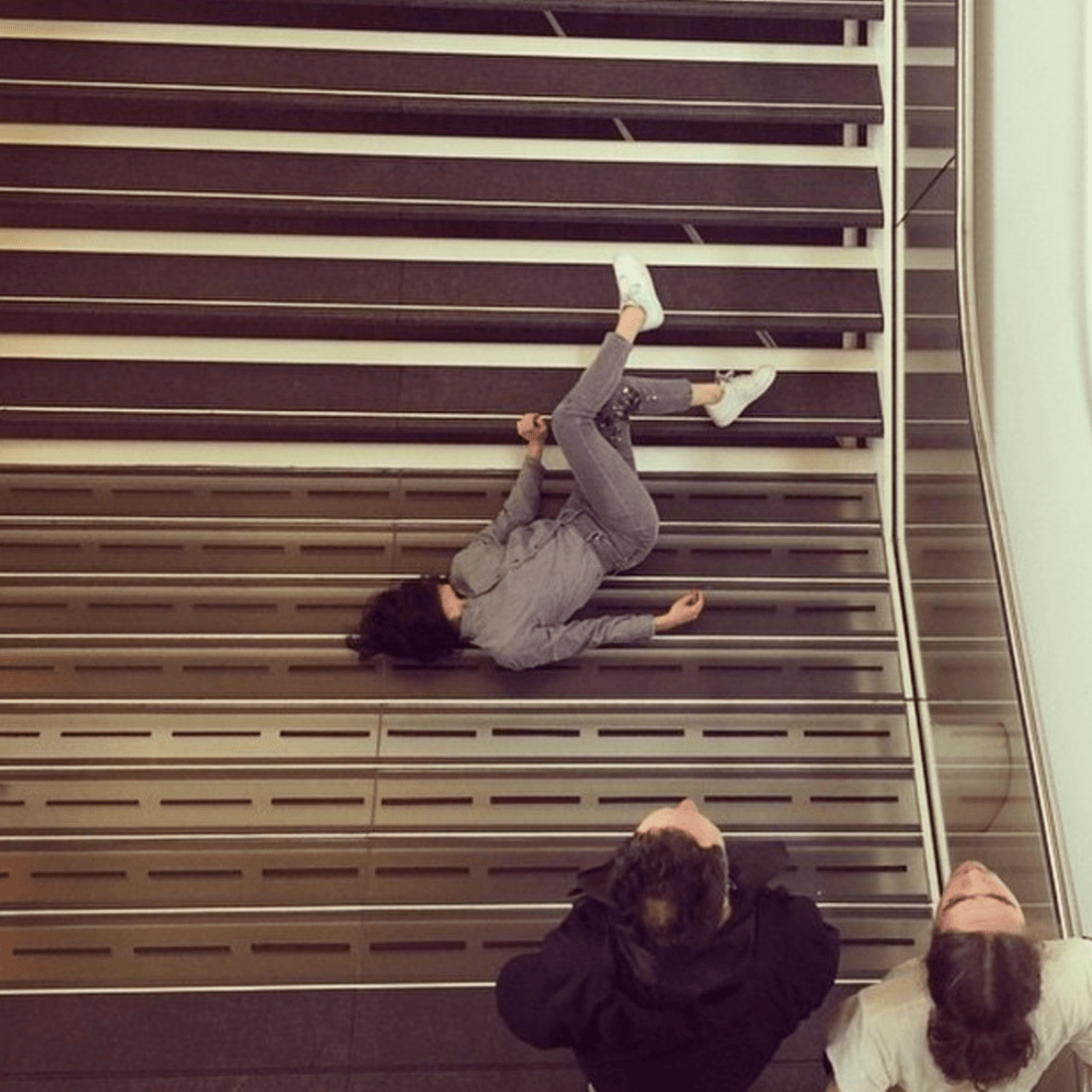 """PLASTIC"" at Stedelijk Museum (Source: Maria Hassabi/Instagram)"