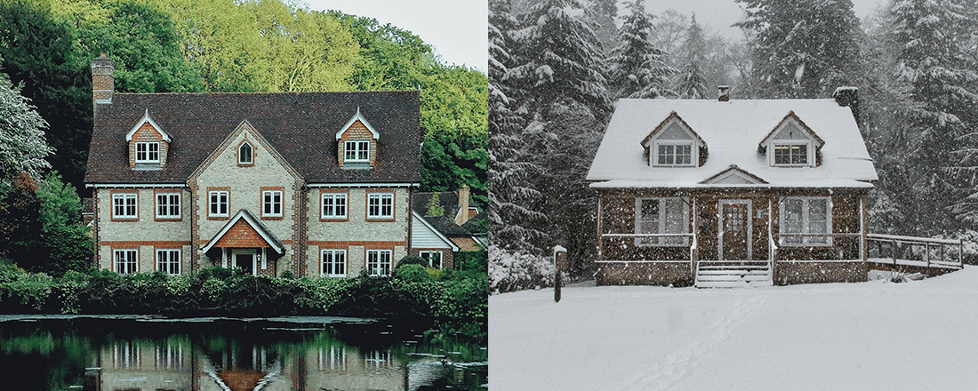 Homes During Different Seasons