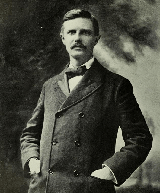 Frederick Jackson Turner (Source: Wikimedia Commons)