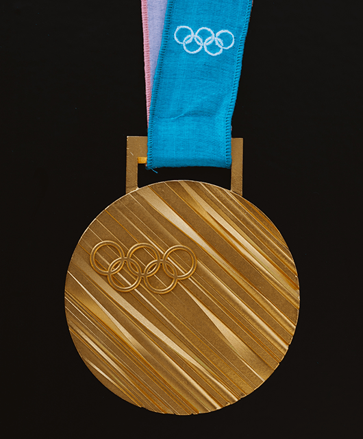 2018 Winter Olympics Gold Medal