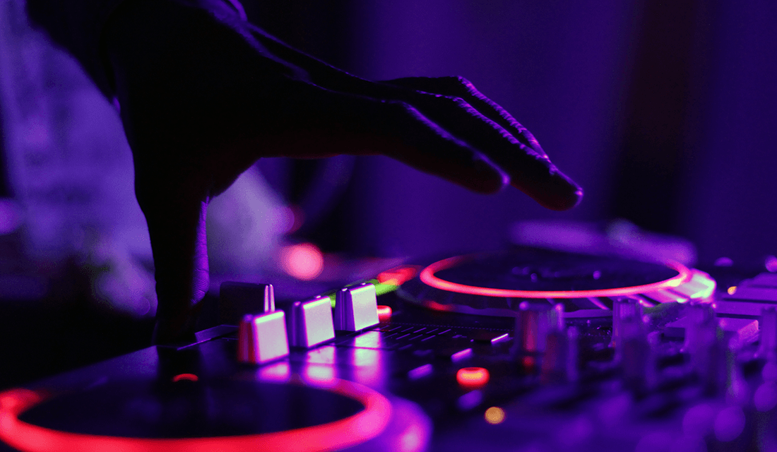 DJ Purple Turntable