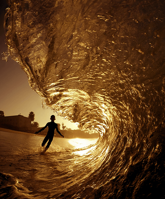 Running in the Waves