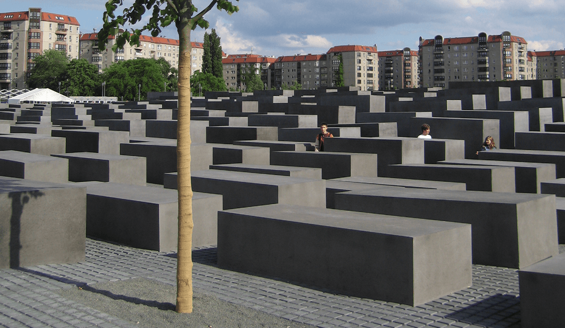 Memorial to the Murdered Jews of Europe (Source: Wikimedia Commons)