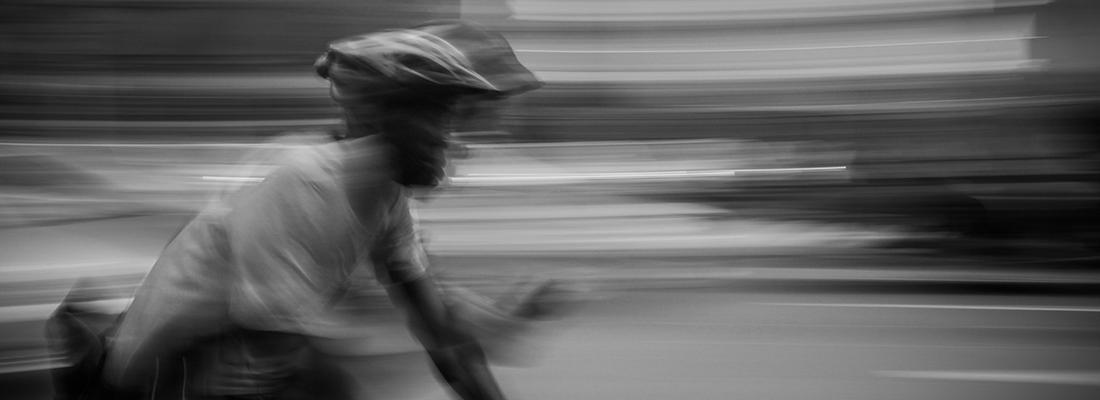 High Speed Cyclist