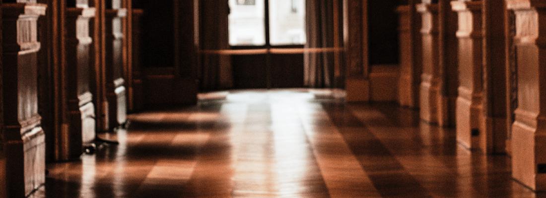 Wooden Hallway