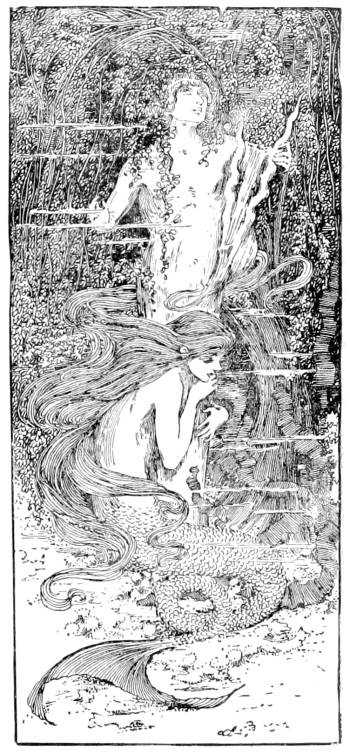 "The Little Mermaid illustration from ""The fairy tales of Hans Christian Andersen"" (Source: Wikimedia Commons)"