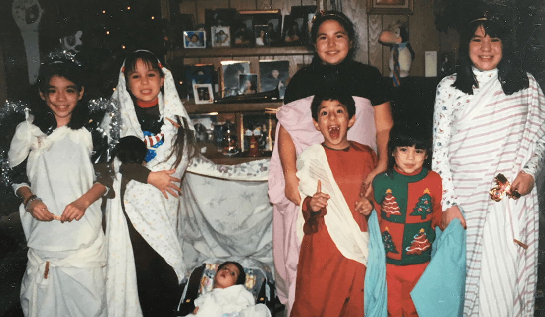 The Villarreal Family Christmas Play (Source: Sarah Grace Villarreal)