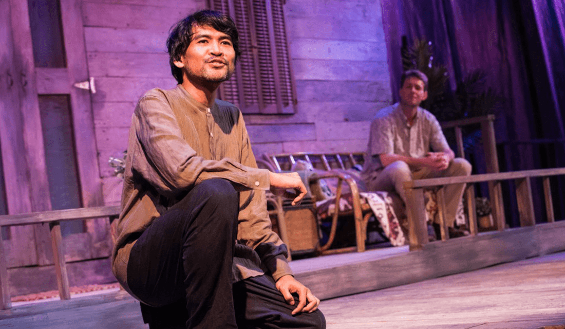 "Rizal Iwan as Yusuf in Rorschach Theatre's ""Forgotten Kingdoms"" (Source: DJ Corey Photography/Rorschach Theatre)"