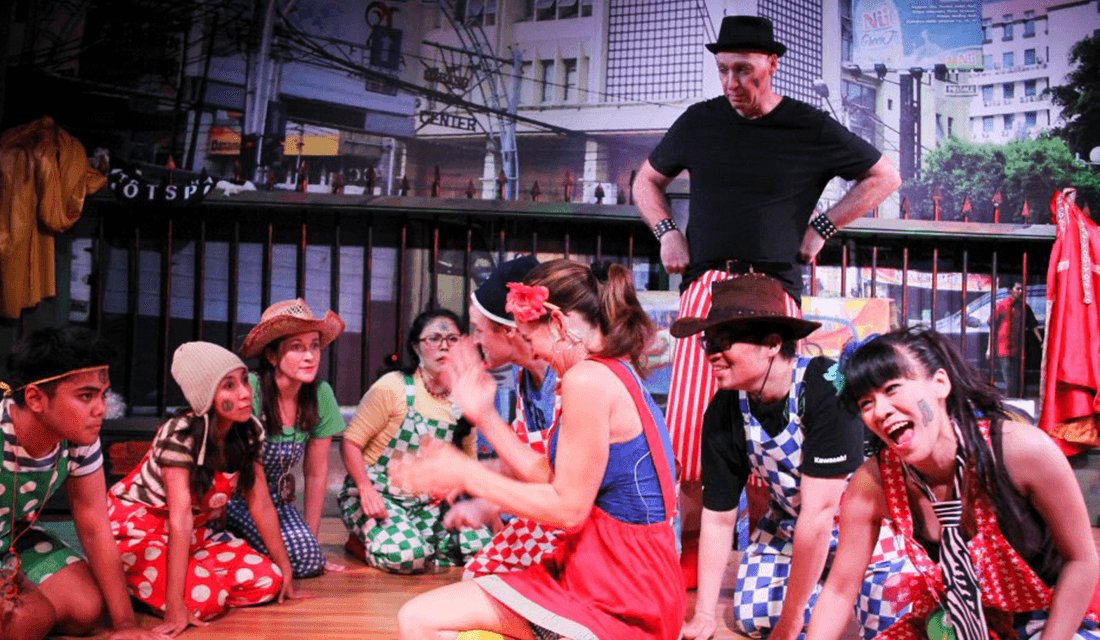"2013 production of ""Godspell"" (Source: Jakarta Players/Facebook)"