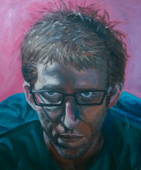 Self-Portrait, 2011 (Source: Colin Soper)