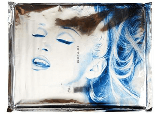 "Madonna's ""Sex"" Book (Source: Abe Books)"