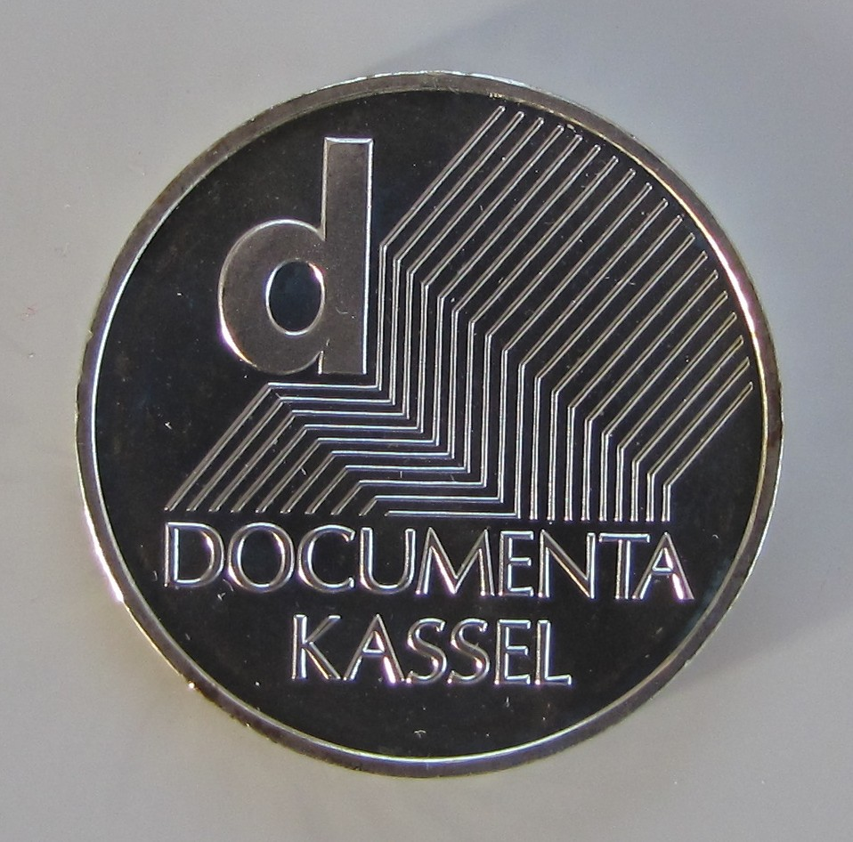 2002 10-Euro coin celebrating Documenta (Source: Wikimedia Commons)