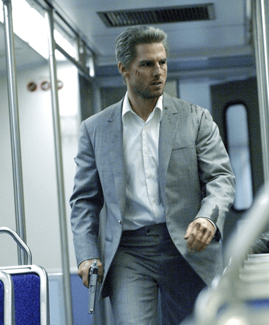 "Tom Cruise in ""Collateral"" (Source: Pinterest)"