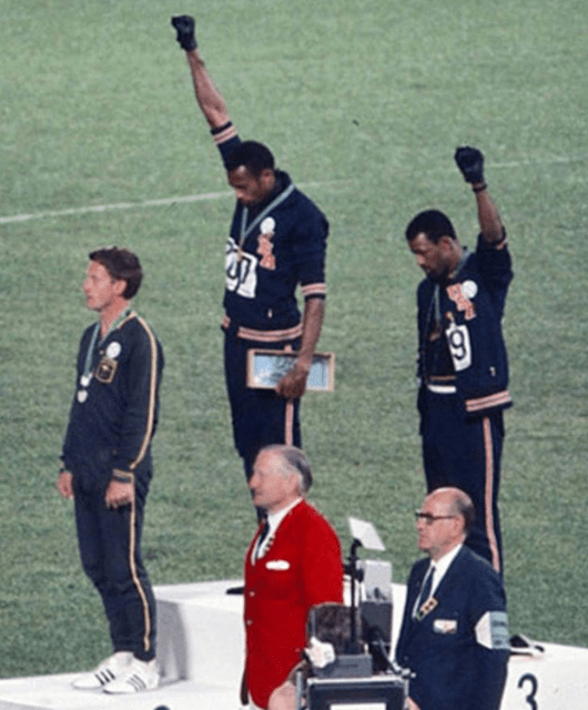 1968 Summer Olympics Black Power Salute (Source: Wikipedia)