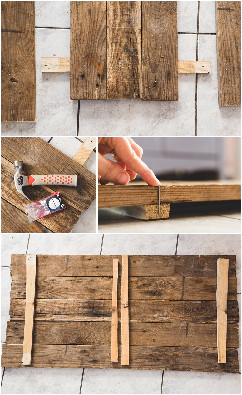 DIY Wood Pallet Sign AND free printable! - Six Clever Sisters