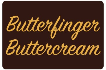 Butterfinger Buttercream