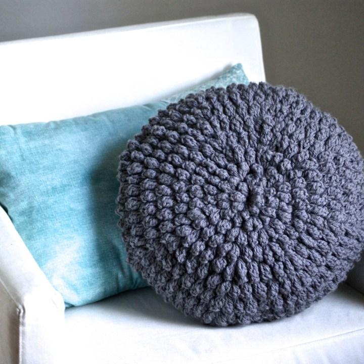 Crochet Puff Pillow Pattern