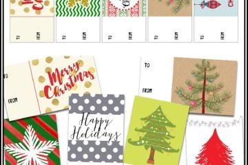 Christmas Gift Tags #free #printable #christmas #gift