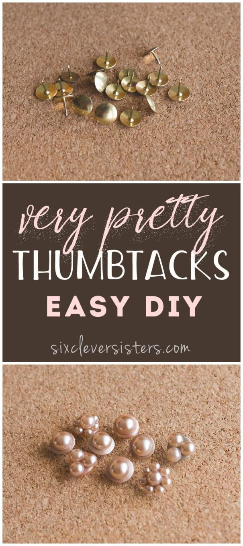 pretty thumbtacks