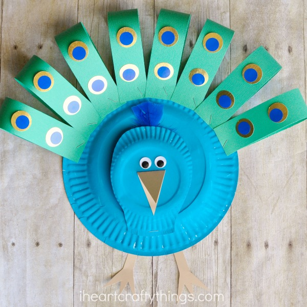Paper Plate Crafts | Crafts for Kids | Easy Craft Ideas for Kids | Crafts Made & Spring Time Paper Plate Crafts for Kids with little prep work for ...