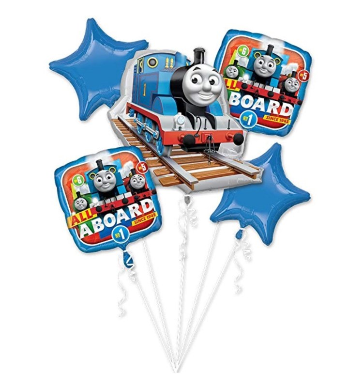 Thomas Cupcake Train Six Clever Sisters